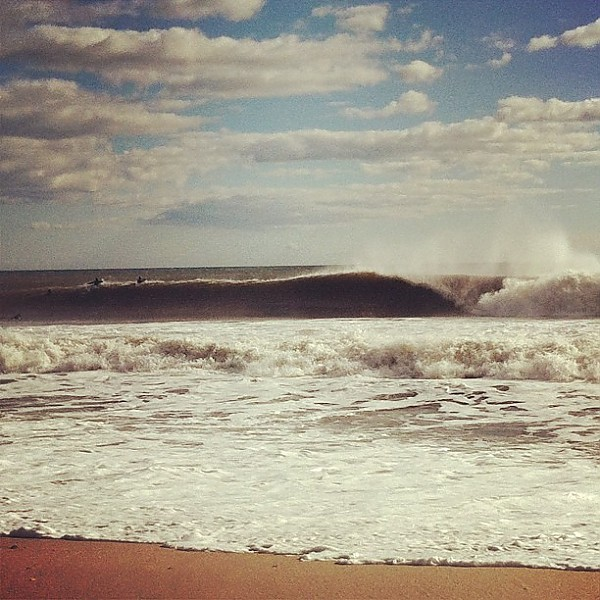Bayhead 1/31/13 Bayhead going off.. New Jersey, Empty Wave photo