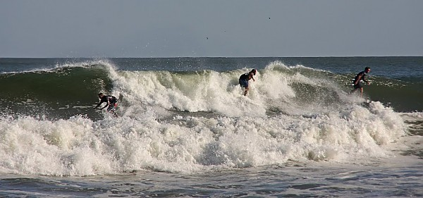 party wave. United States, Surfing photo
