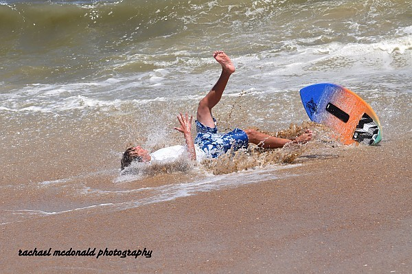 obx 2012 skimming and wipe outs. Virginia Beach / OBX, Surfing photo