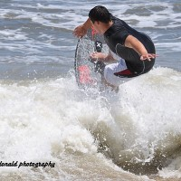 obx 2012 skimboarding. Virginia Beach / OBX, Bodyboarding photo