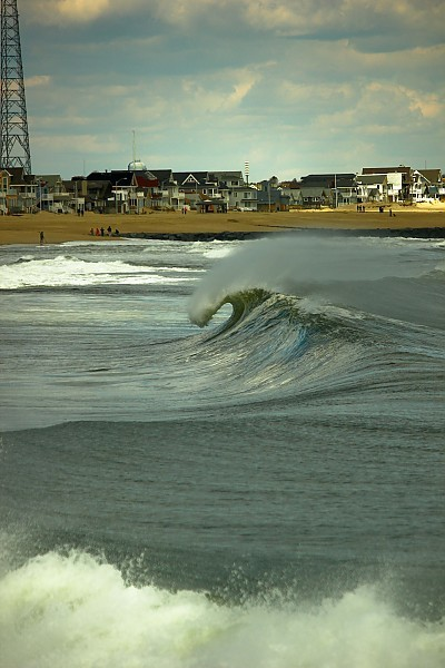 empty manasquan. New Jersey, Empty Wave photo