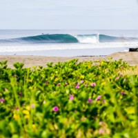 a frame perfection. Nicaragua, Empty Wave photo