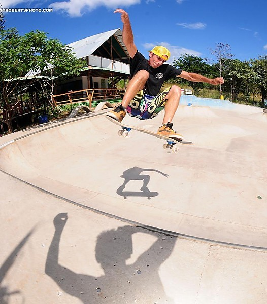 Real Surf Trips Costa Rica Our local skatepark and