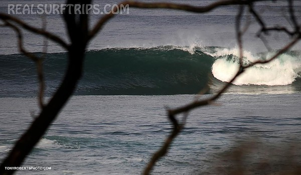 Real Surf Trips Costa Rica Reef refractions meet glassy