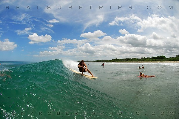 Real Surf Trips Costa Rica Warm water, mild rights