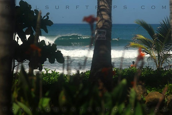 Real Surf Trips Costa Rica Dry season offshores and