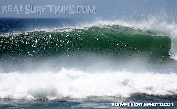 Real Surf Trips Costa Rica ...wind groomed and full