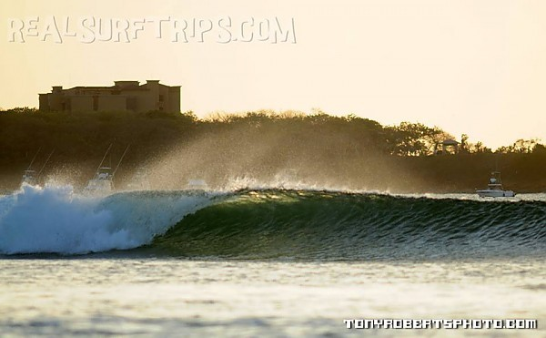 Real Surf Trips Costa Rica wind, tide, swell....the