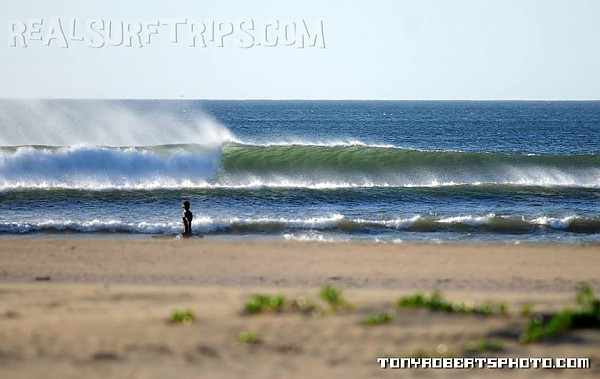 Real Surf Trips Costa Rica Long roping lefts and the
