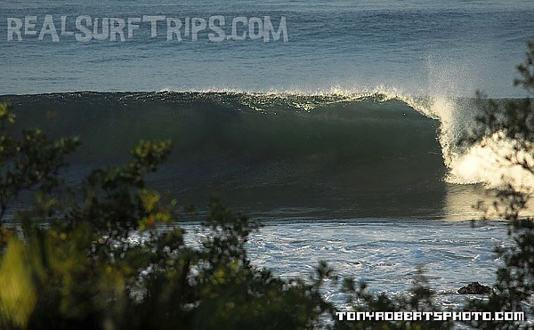 Real Surf Trips Costa Rica Pull in and hug it...REAL