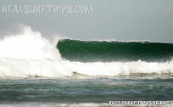 Real Surf Trips Costa Rica This closeby reefbreak goes
