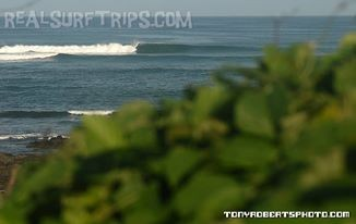 Real Surf Trips Costa Rica Mysto reef a short walk