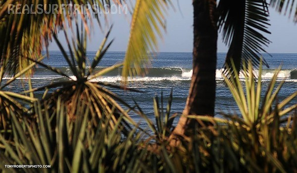 Real Surf Trips Costa Rica another unnamed reef quietly