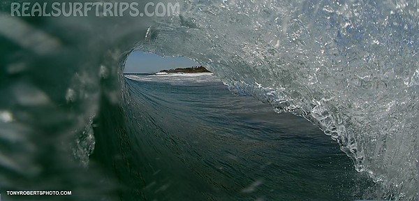 Real Surf Trips.com The cylindrical form, the swirling