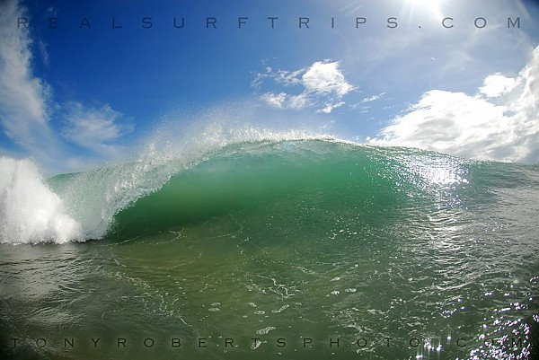 Real Surf Trips Costa Rica like blue eyes smiling 