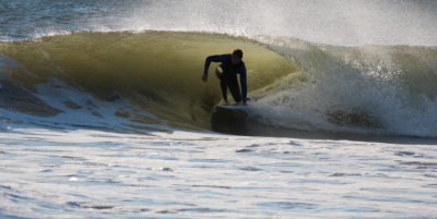barreled. New Jersey, Surfing photo
