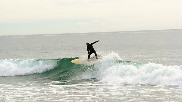 California Lip Me dropping down. United States, Surfing photo