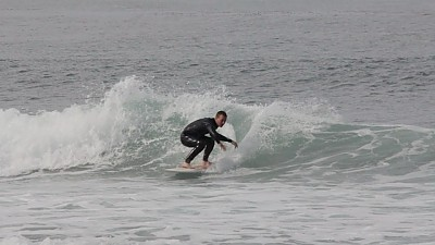 below the tracks. SoCal, Surfing photo