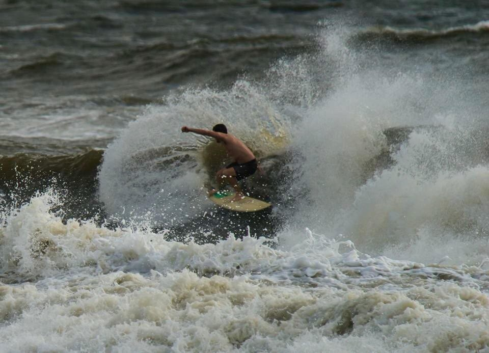 Joaquin - Making a mess. North Florida, Surfing photo