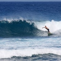 Fun day Wilderness in March. Puerto Rico, Surfing photo
