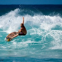 wilderness shredding. Puerto Rico, Surfing photo