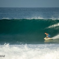 wilderness wall. Puerto Rico, Surfing photo