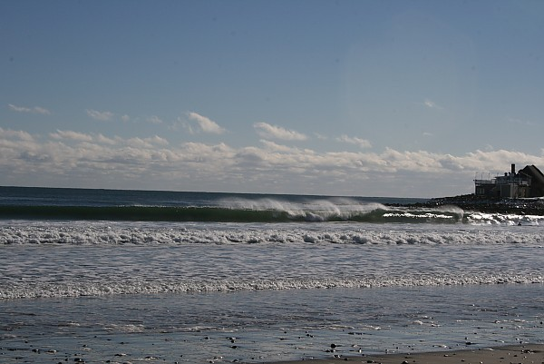 RI Winter Rhode Island winter 2014.. Southern New England, Empty Wave photo