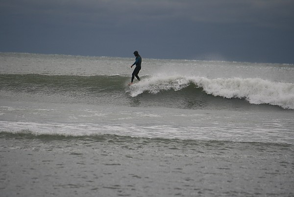 Winter in RI RI. United States, Surfing photo