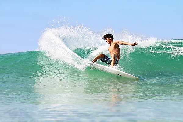 kids who shred kid shredding. United States, Surfing photo