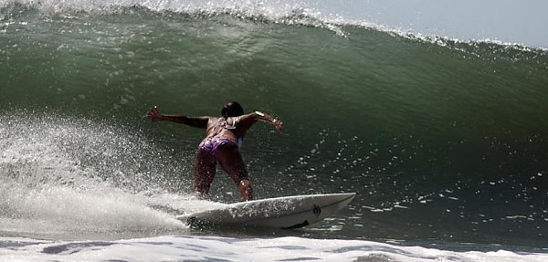 Real Surf Trips Andrea Diaz is one of those surfers