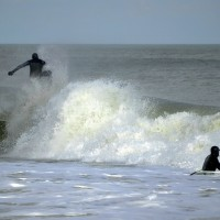 Pav. Ave. Nor'easter. New Jersey, Surfing photo
