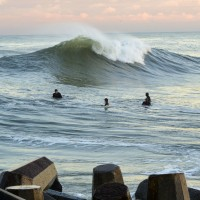 Doomsday Swell, Pav. Ave. New Jersey, Surfing photo
