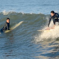 Surfing Andrea. New Jersey, Surfing photo