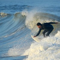 T.S. Andrea, Pier Village. New Jersey, Surfing photo