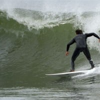 Surfing Pavilion Ave.. New Jersey, Surfing photo