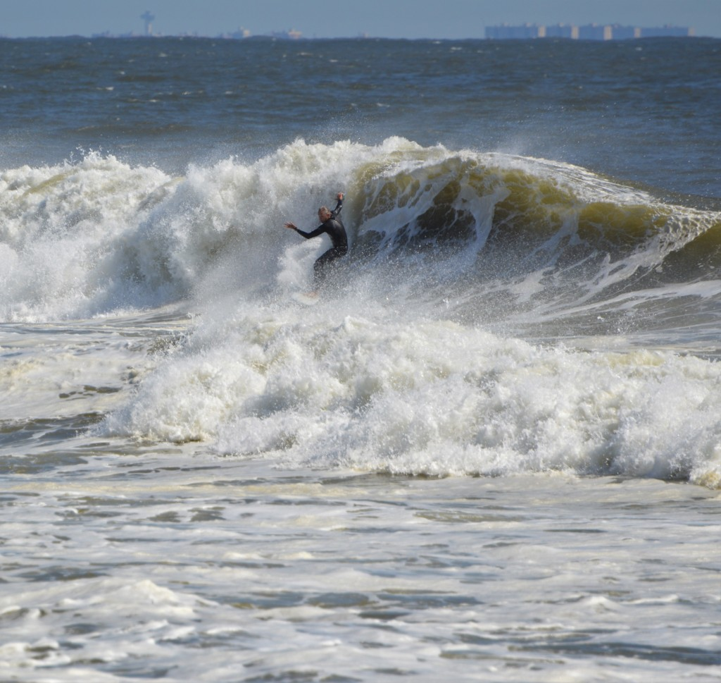 Raoul Woolson. New Jersey, Surfing photo