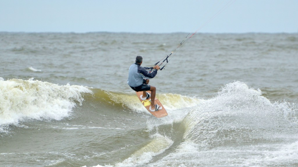Deal, NJ. New Jersey, Kitesurfing photo