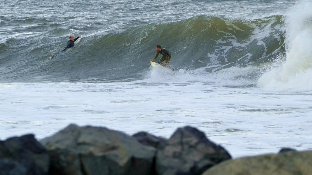 Jose at Sandy Hook. New Jersey, Surfing photo
