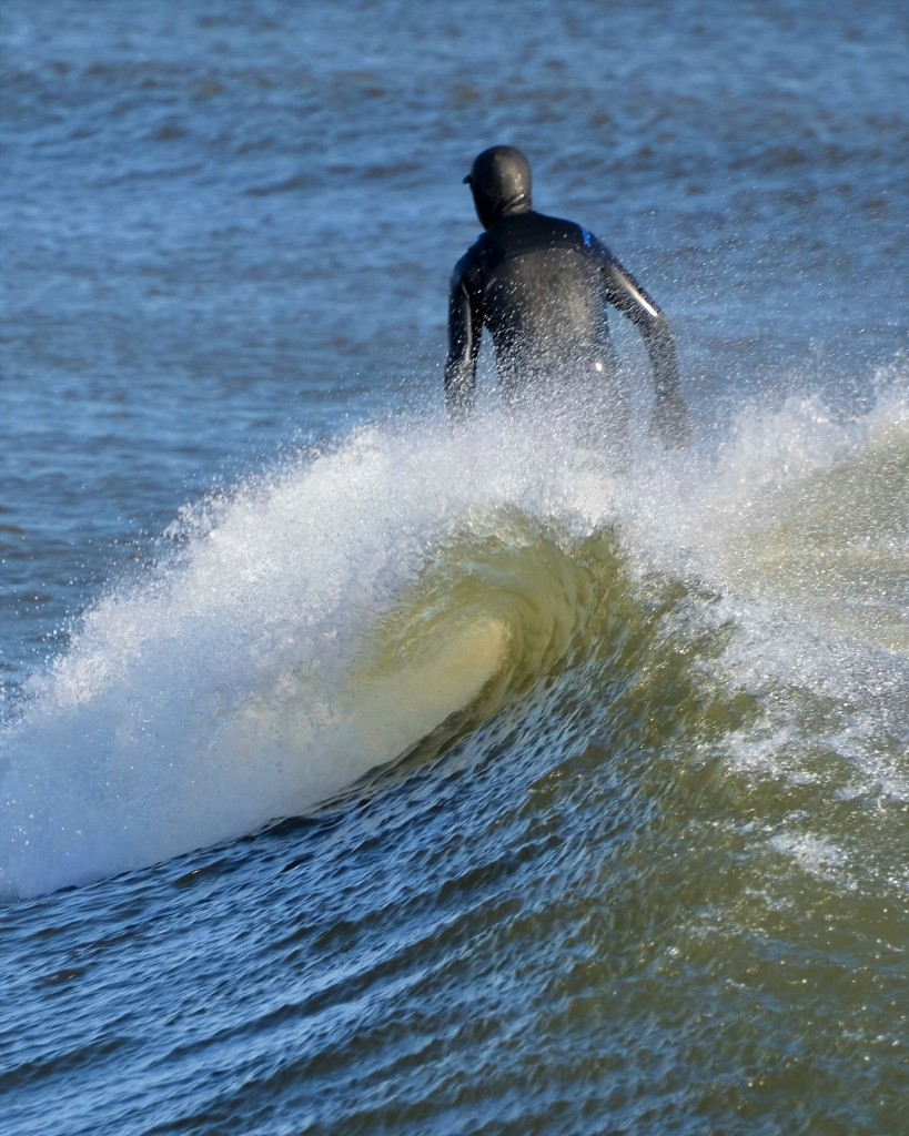 Manasquan Inlet, Dec. 1st. New Jersey, Surfing photo