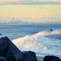 The Cove. New Jersey, Surfing photo