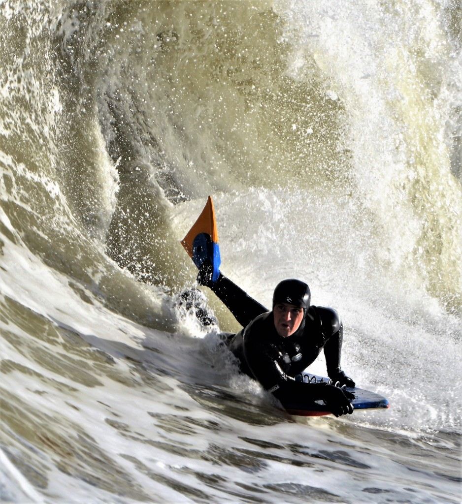 Nor'Easter. New Jersey, Bodyboarding photo