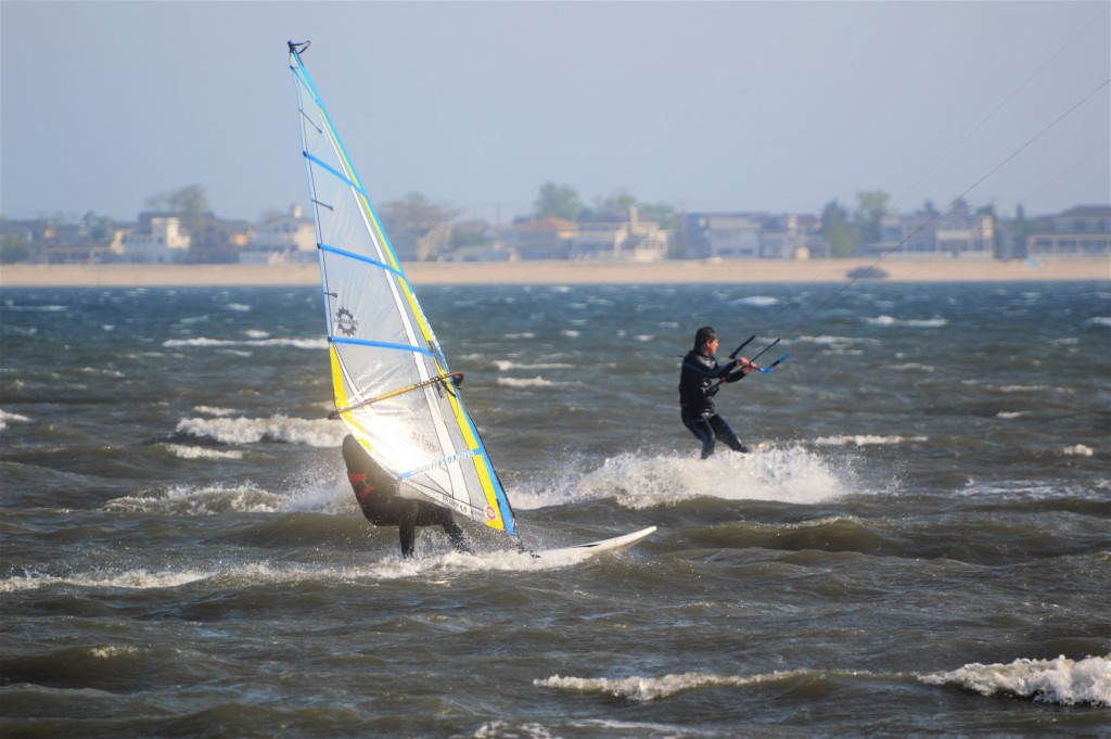 Drag Race. New York, Kitesurfing photo
