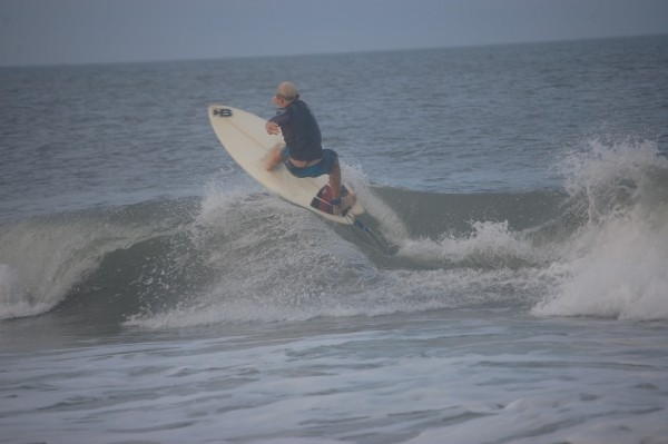 Surfing Colin Swell surfing the kove