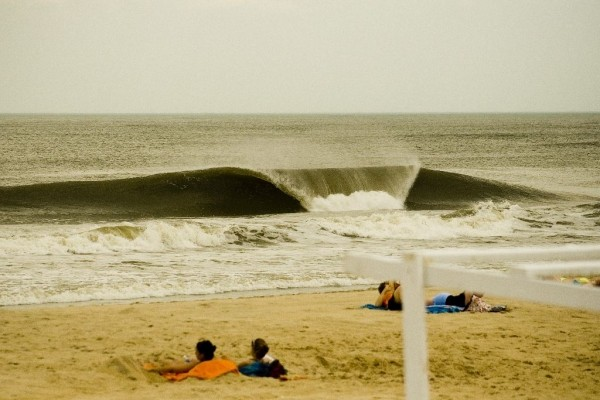 June 4th. Delmarva, surfing photo