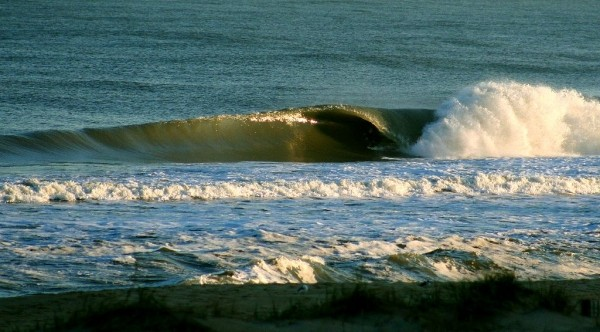 Look Closely In The Barrel. Delmarva, surfing photo