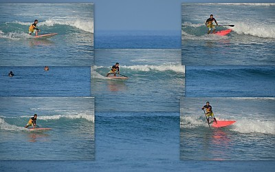 Five Times The Fun! Snap! Snap! Snap! This surfer just