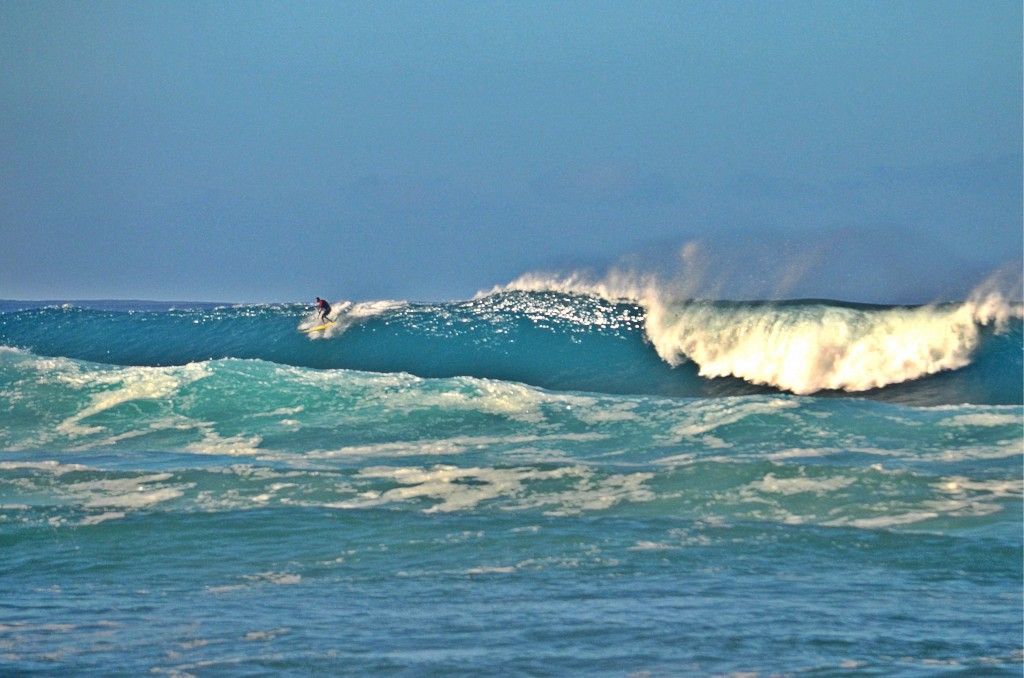A Cold November Morning. Oahu, Surfing photo