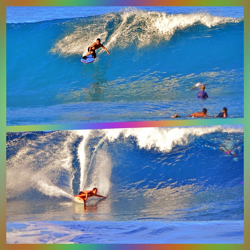 Just Another Sun Day!. Oahu, Bodyboarding photo