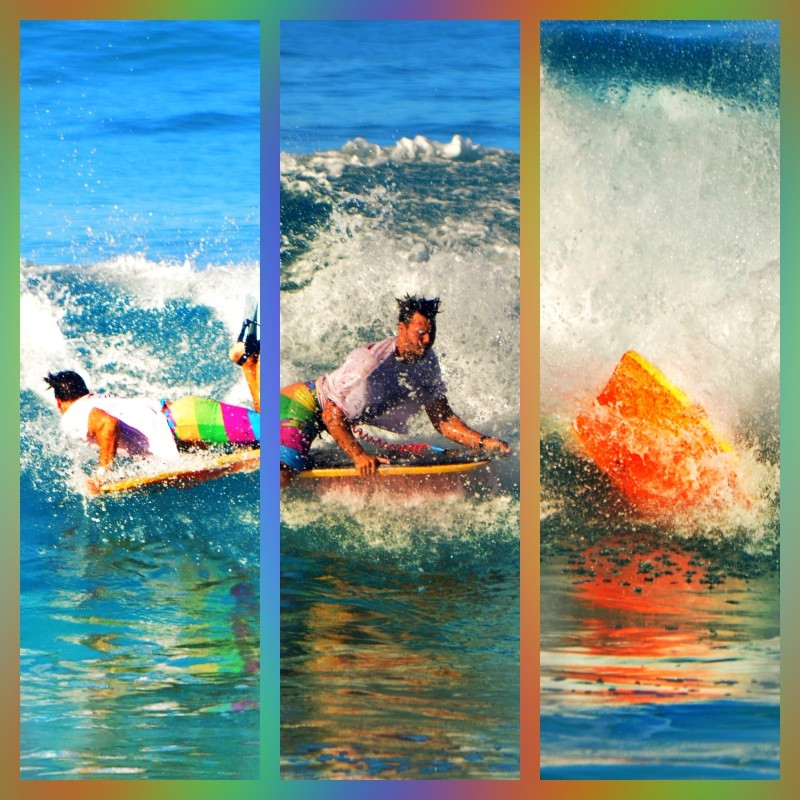 Maneuvers. The creative side of body boarding.