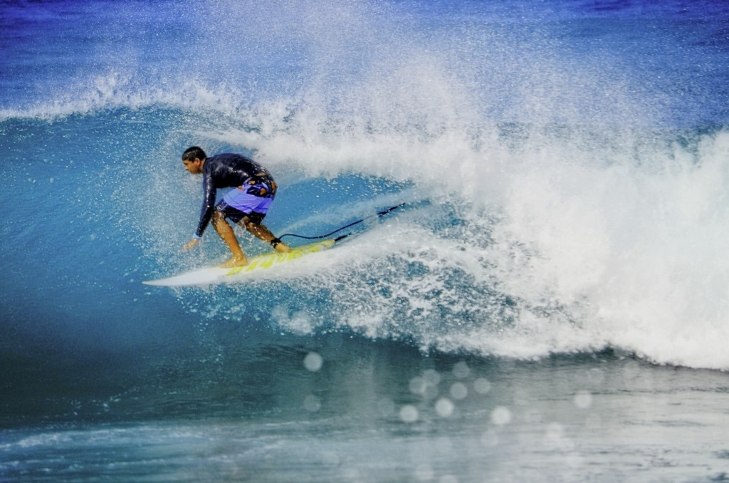 Going For It!. Oahu, Surfing photo